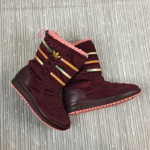 Maroon Adidas Winter Adidas Winter Maroon Boots tdCxsBhQr